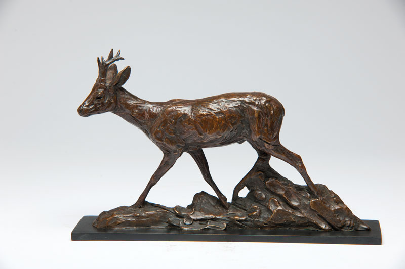 Photo of Roe Buck sculpture